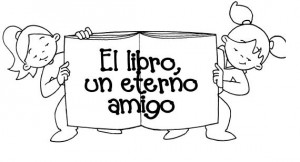 Día Del Libro Dibujos Y Carteles Para Colorear Escuela En La Nube