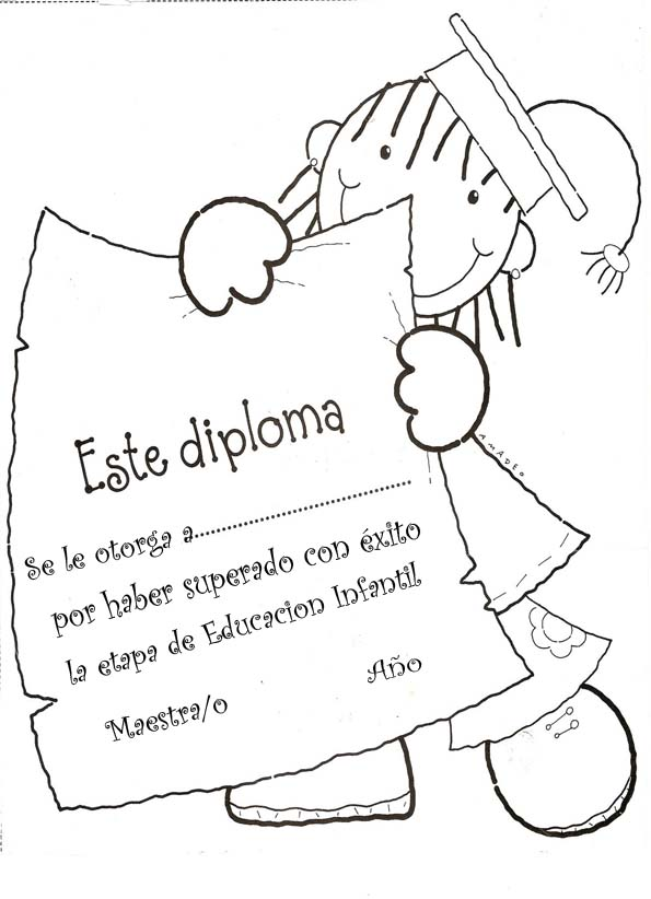 Diplomas26 for Asistenciero para jardin de infantes