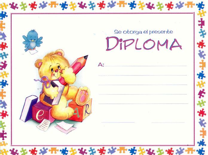 Diplomas para primaria - Imagui