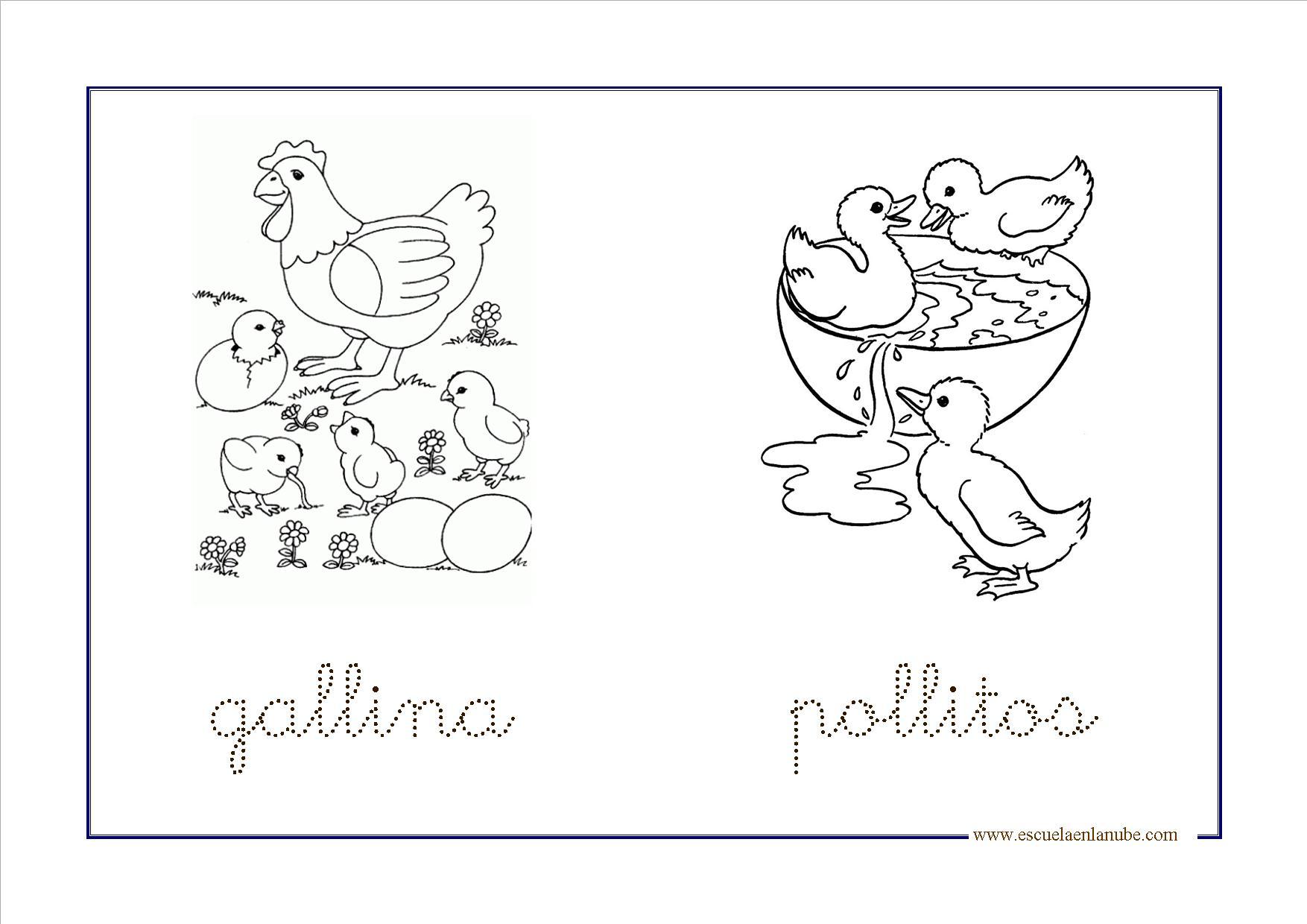 Inspirador Imagenes Para Colorear De Animales Infantiles | Colore Ar ...