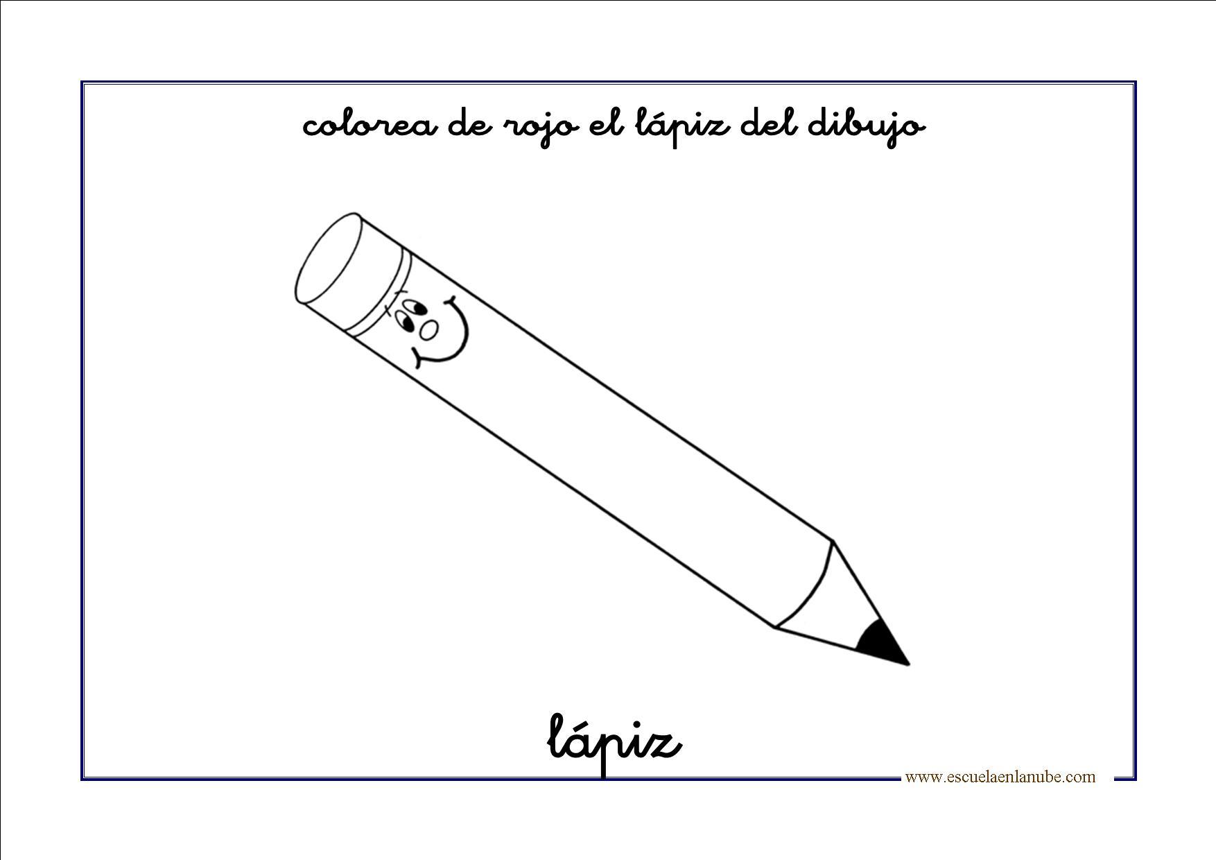 Dibujos Para Colorear Lapiz. Cheap Dibujo Para Colorear