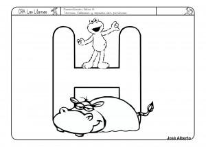Actividades Con La Letra H Lectoescritura Infantil