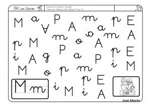 Fichas Letra M Para Imprimir Y Trabajar La Lectoescritura