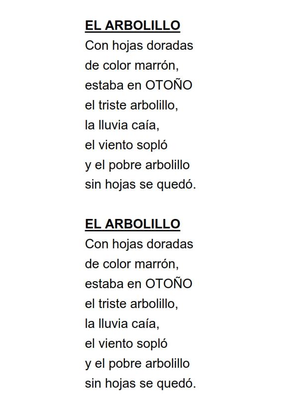 Poesias Para El Colegio De 5 Estrofas