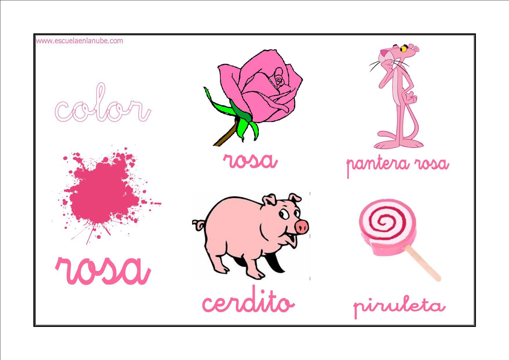 Recursos para el aula: Fichas para trabajar los colores