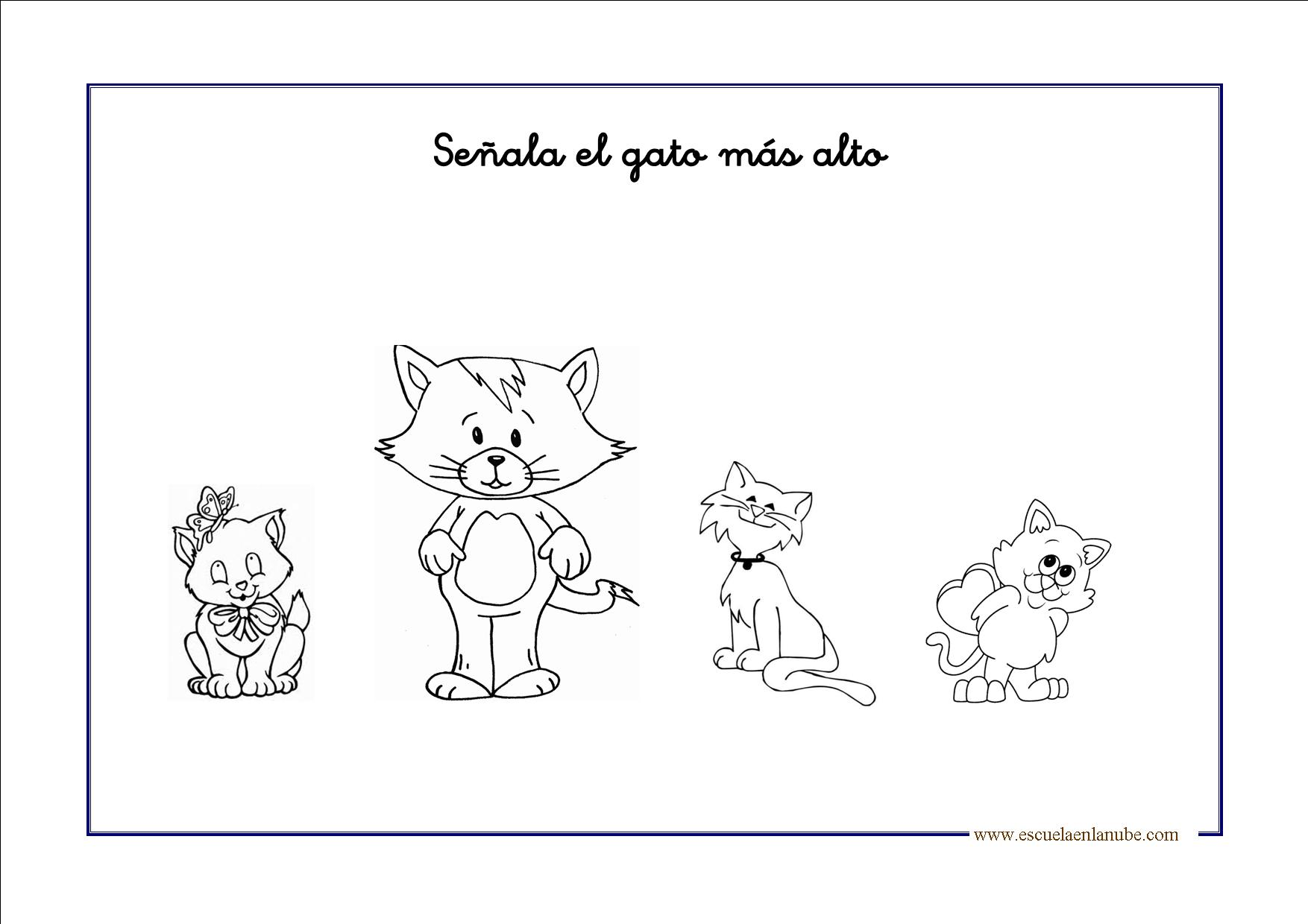 alto bajo para colorear Colouring Pages (page 3)