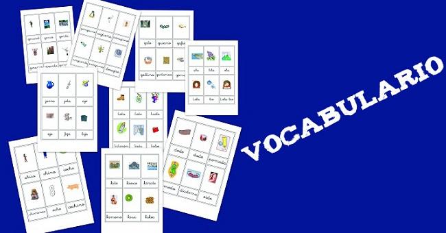 vocabulario en imágenes