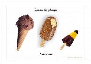 Vocabulario en imágenes del verano