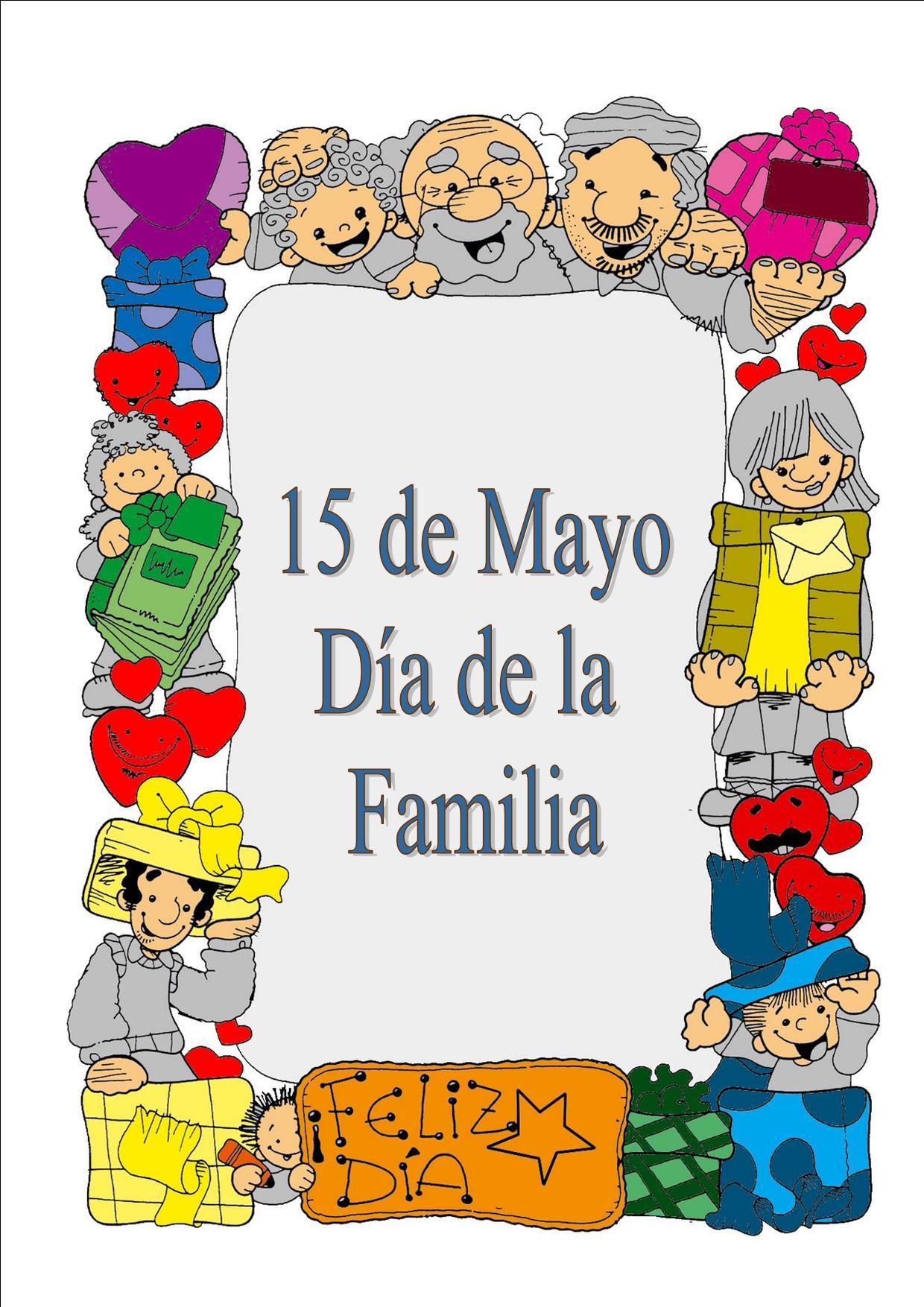 Carteles d a de la familia for Mural una familia chicana