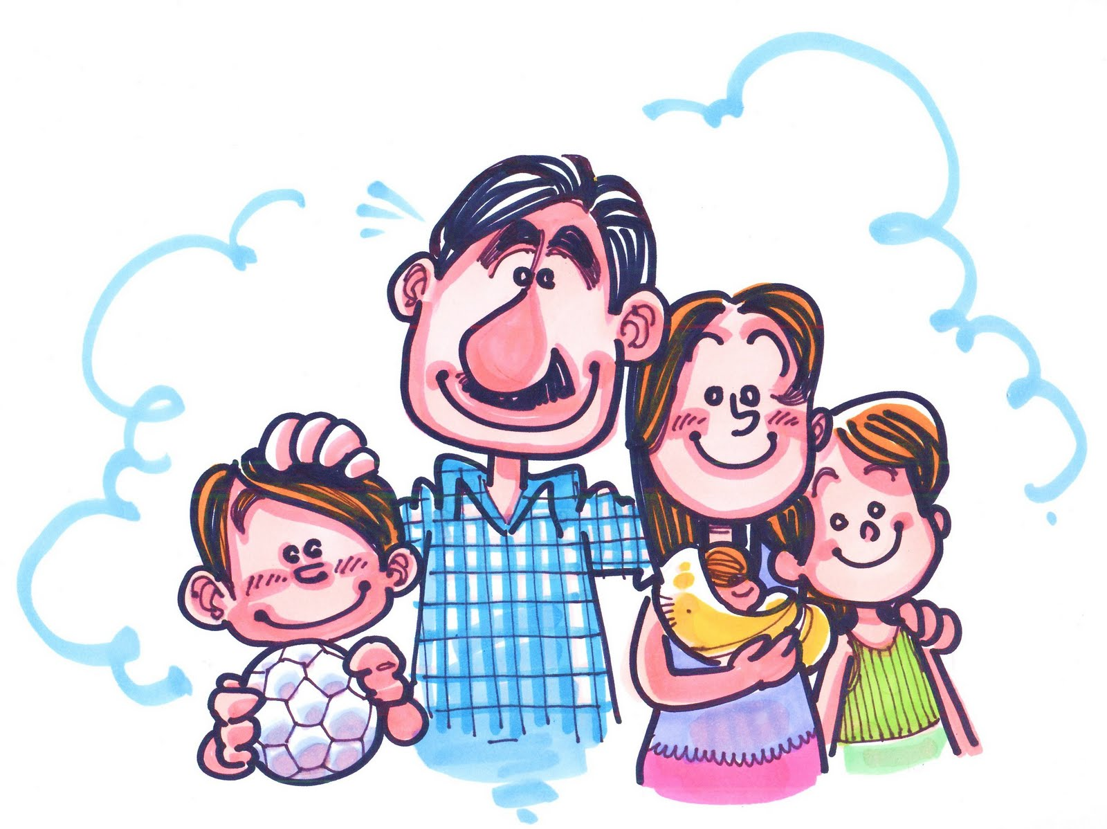 imagenes con frases de familias
