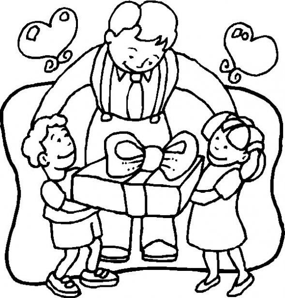 Worksheet. Dibujos para colorear en el da de la familia