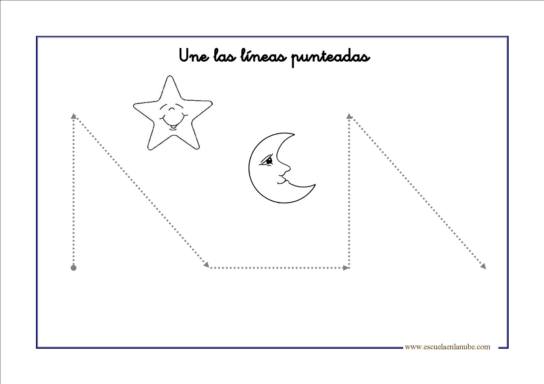 Fichas de grafomotricidad para Educación Infantil