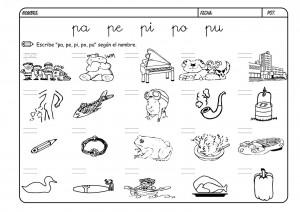 Lectoescritura Con La Letra P Mejora El Vocabulario Y La