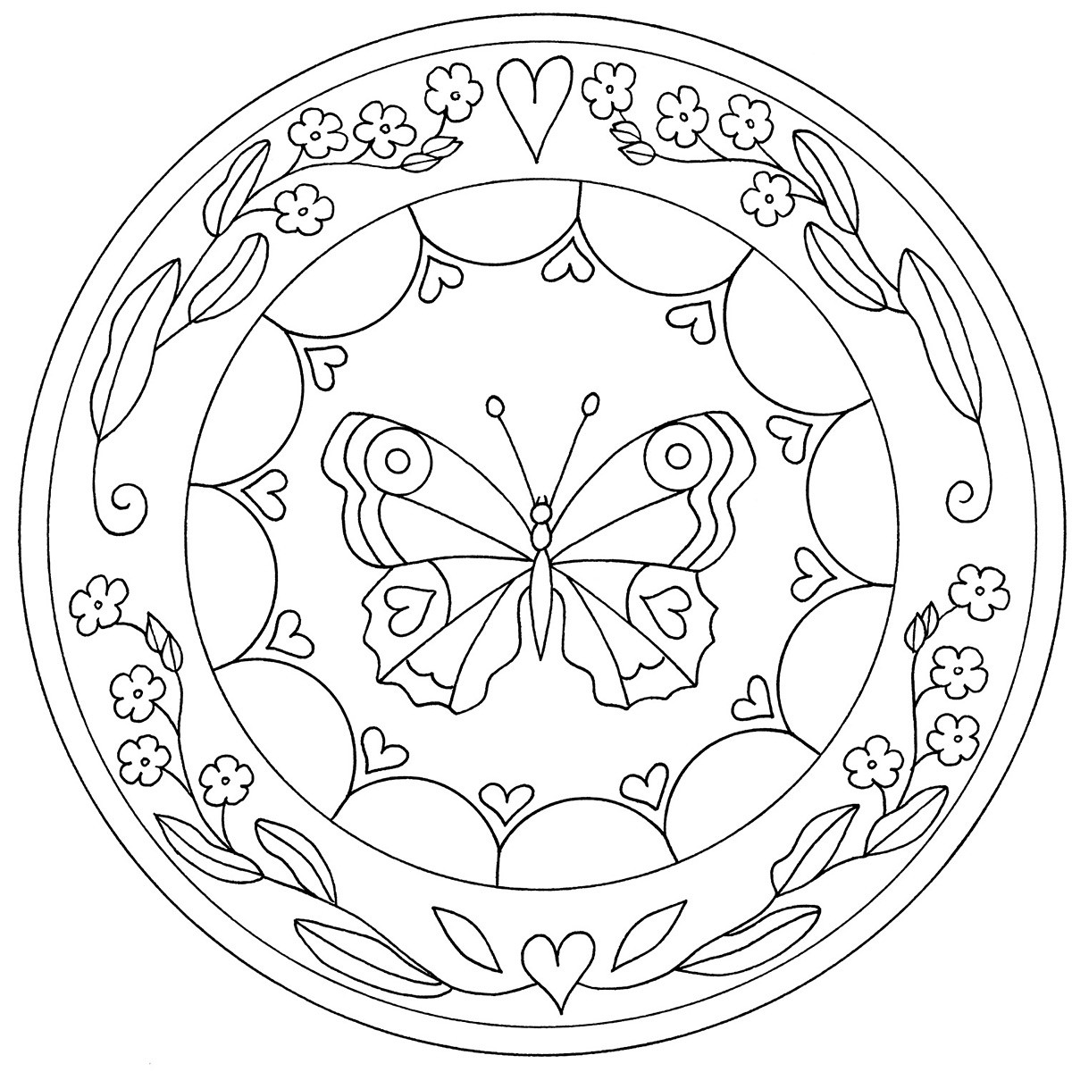 Summer mandala coloring pages - 17 Best Images About Mandales On Pinterest Coloring Dibujo And Mandala Coloring Pages