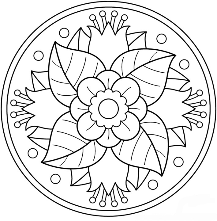 Per Pintar On Pinterest Mandala Coloring Pages Dover Publications And Pages