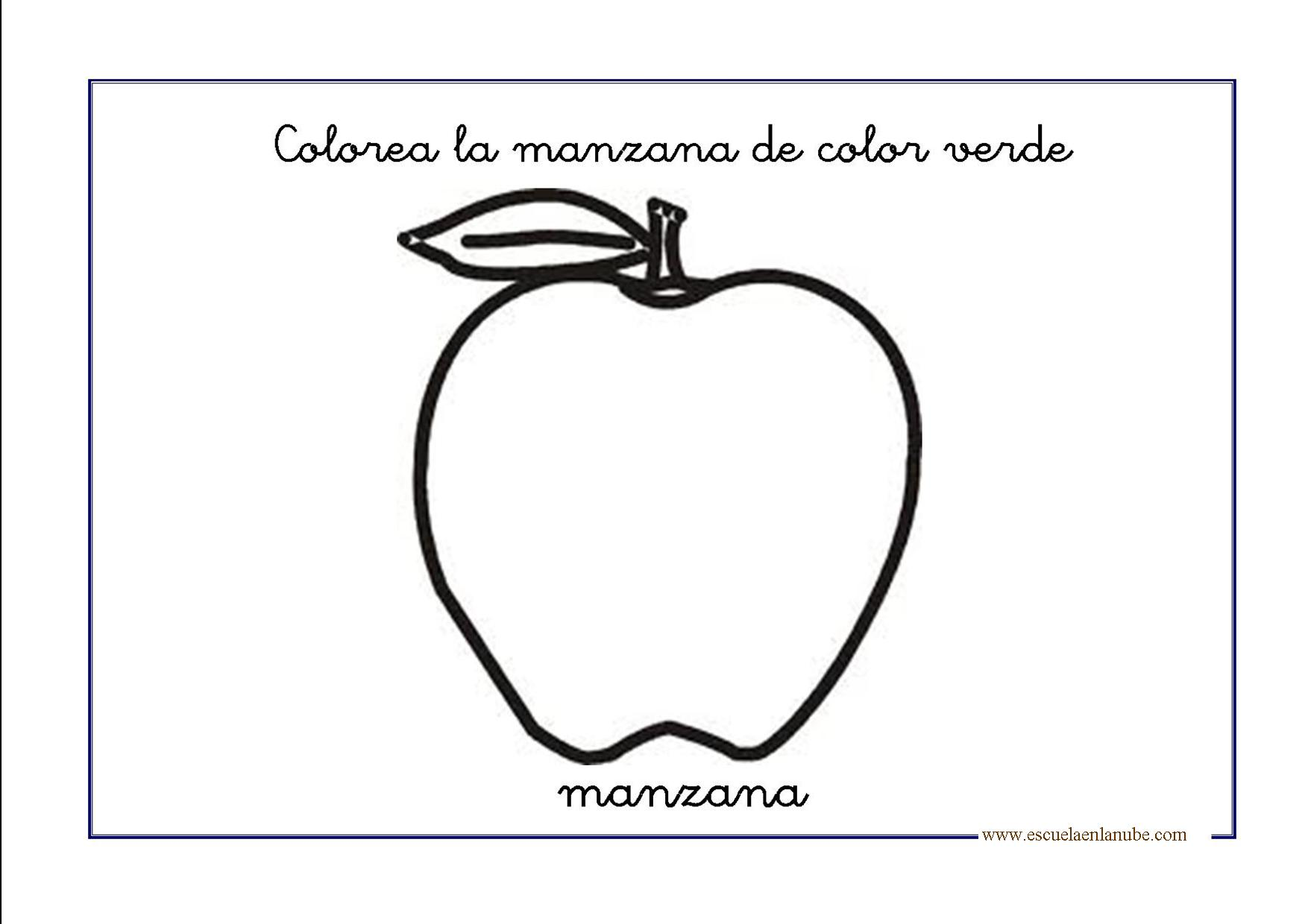 Manzana for Laminas grandes para pared