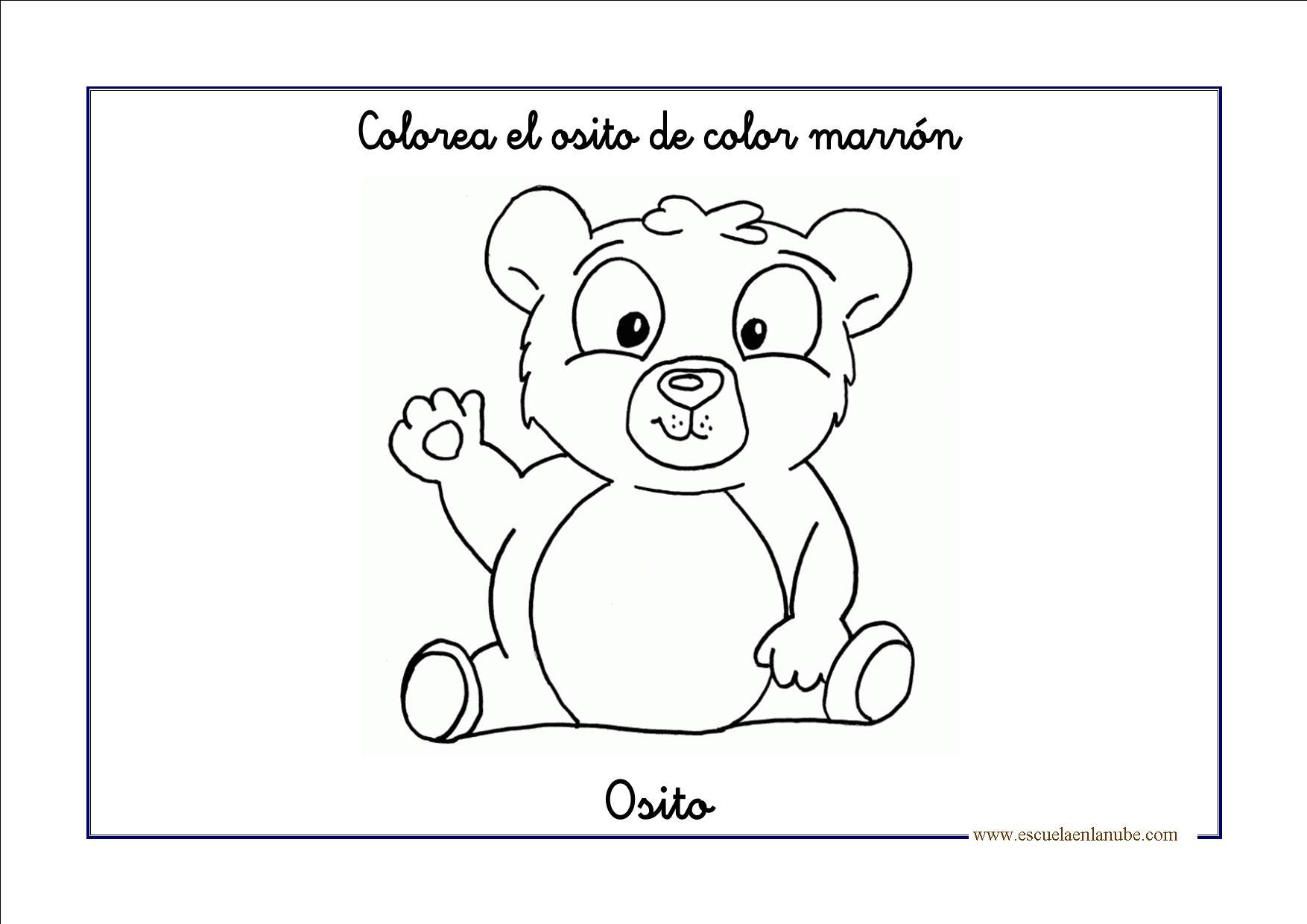 Vistoso Página Para Colorear Marrón Molde - Ideas Para Colorear ...