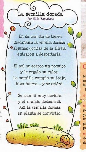 Poemas infantiles22 for Cancion jardin de rosas en ingles