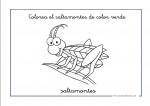 Dibujos para colorear de color verde