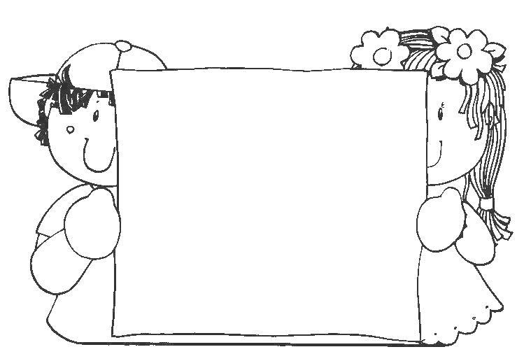 Bordes y marcos para cilorear imagui - Cenefas para dibujar ...