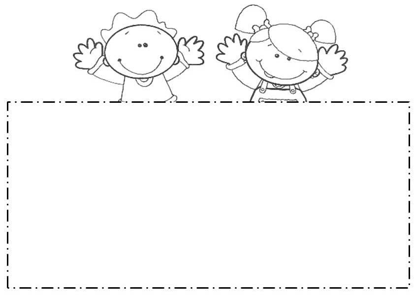 bordes escolares Colouring Pages