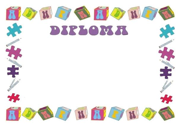 Bordes De Diplomas Para Ninos