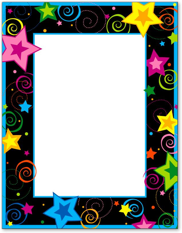 Birthday Borders and Frames