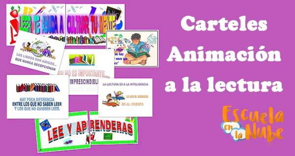 Carteles Y Frases De Animación A La Lectura Escuela En La Nube