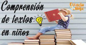 trabajar la comprensión lectora
