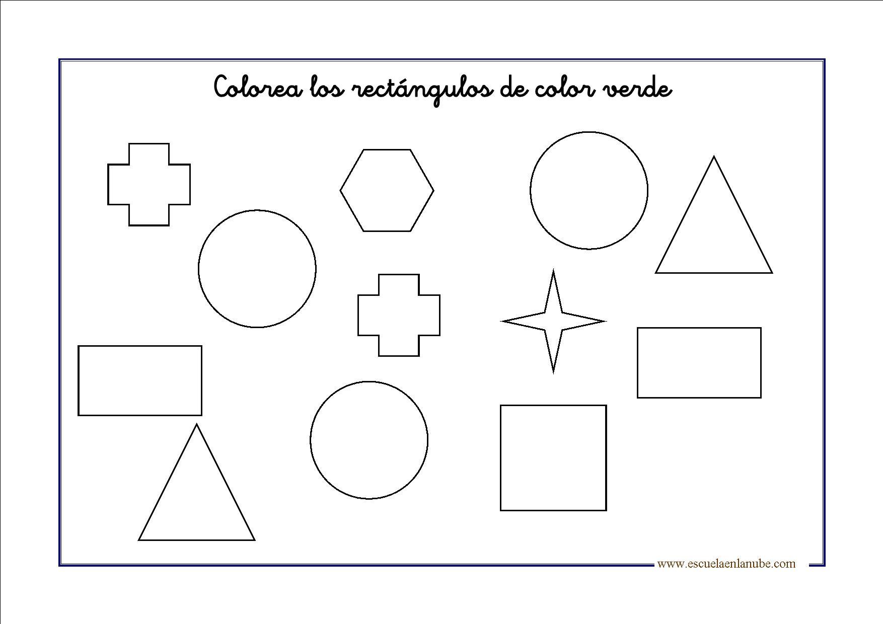 Figuras geométricas para infantil y primaria