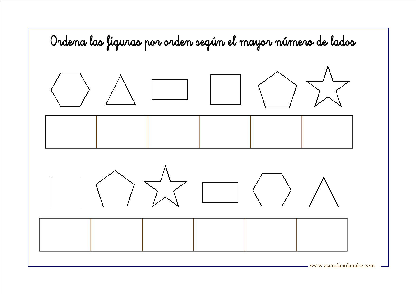 Figuras geom tricas para infantil y primaria - Maneras de pintar ...