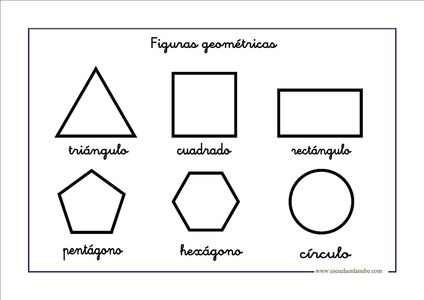 Figuras geom tricas para infantil y primaria for Las formas geometricas
