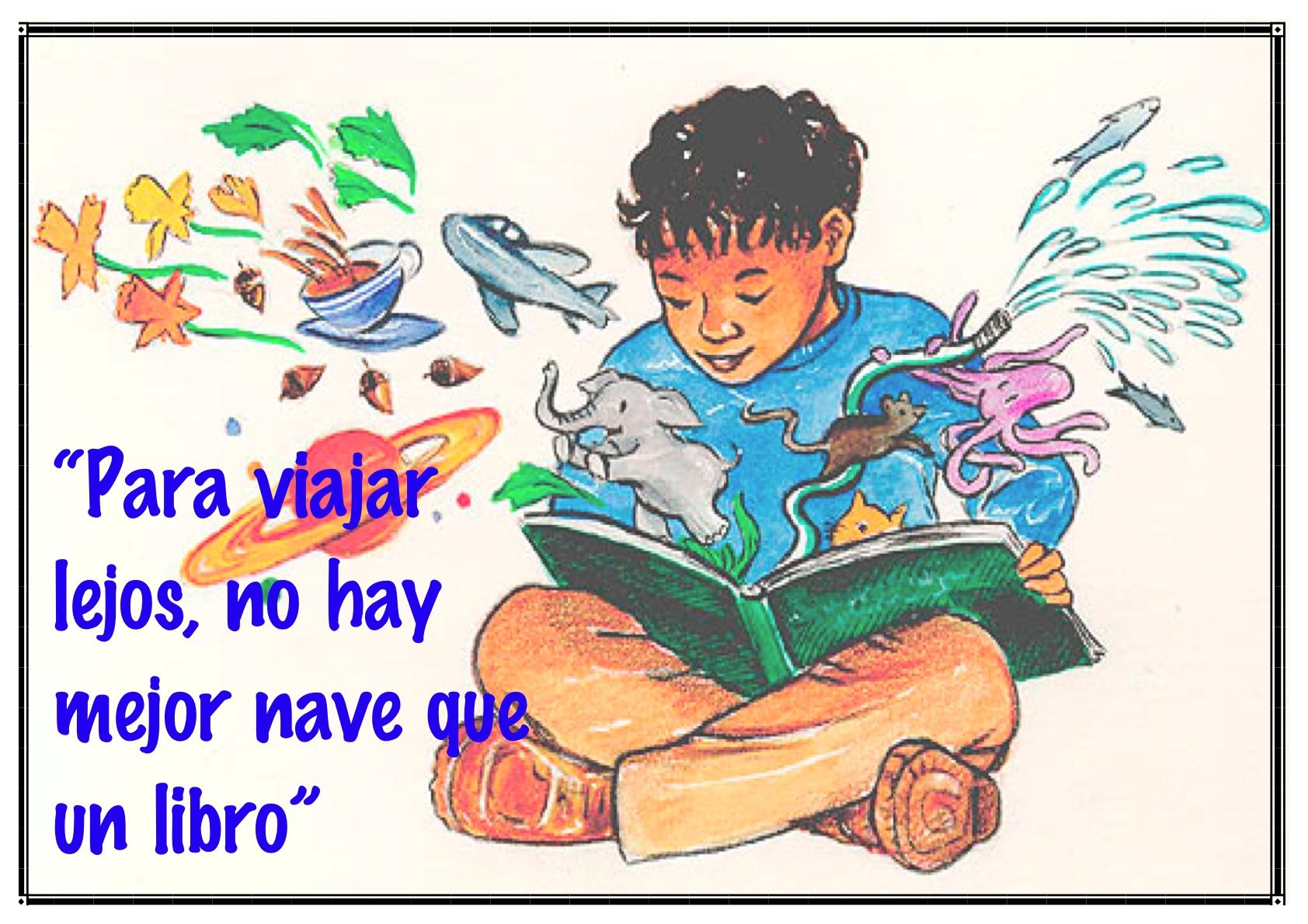 Frases Para Motivar La Lectura En Primaria Intersas Tarjeta