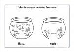 Conceptos contrarios: Lleno-Vacío