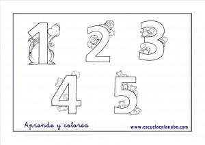 Números Del 1 Al 5 Fichas De Matemáticas Para Infantil Escuela En
