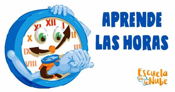 Métodos Efectivos Para Aprender Horas Del Reloj Escuela En La Nube