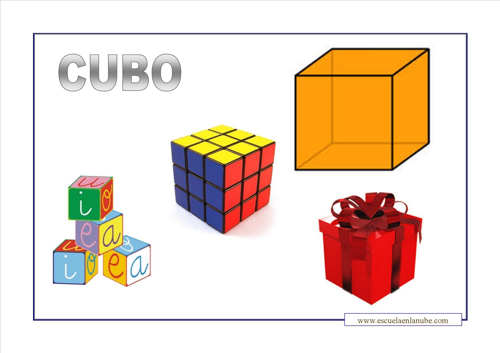 Objetos En Forma De Cubos