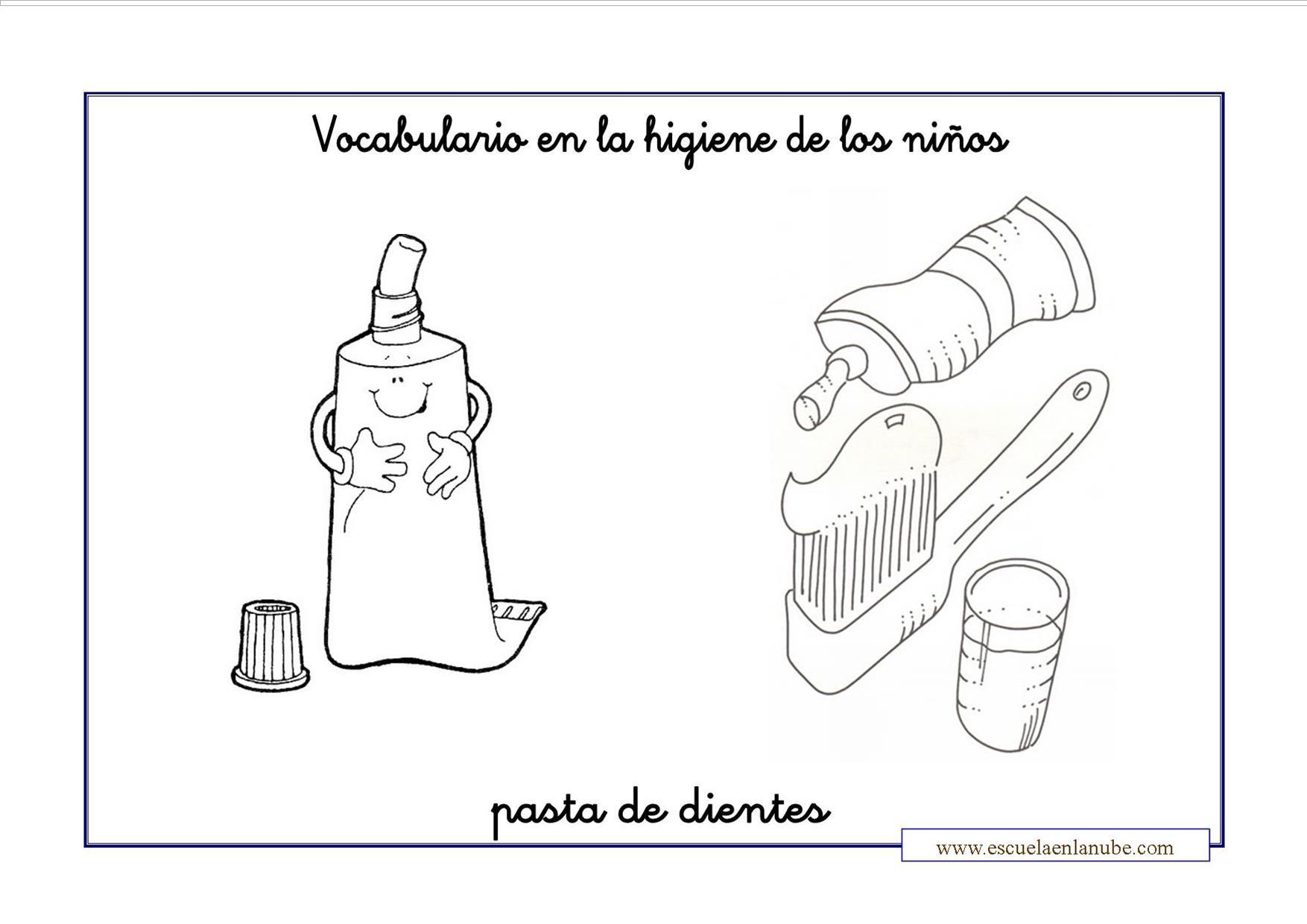 La higiene infantil. Fichas para trabajar