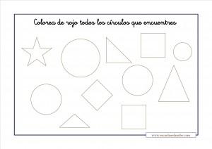 Fichas Matemáticas Ejercicios De Figuras Geométricas Escuela En