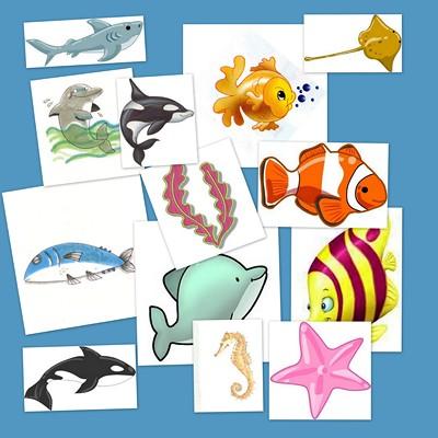 Animales marinos. Bits de inteligencia