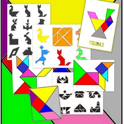 """El Tangram es un juego chino muy antiguo llamado """"Chi Chiao Pan ..."""
