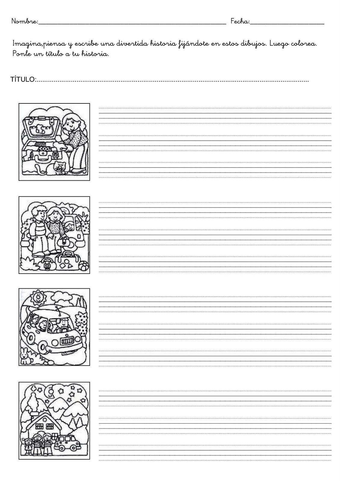 Expresión escrita. Ejercicios de lengua
