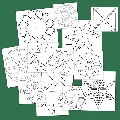 Dibujos de Mandalas para colorear