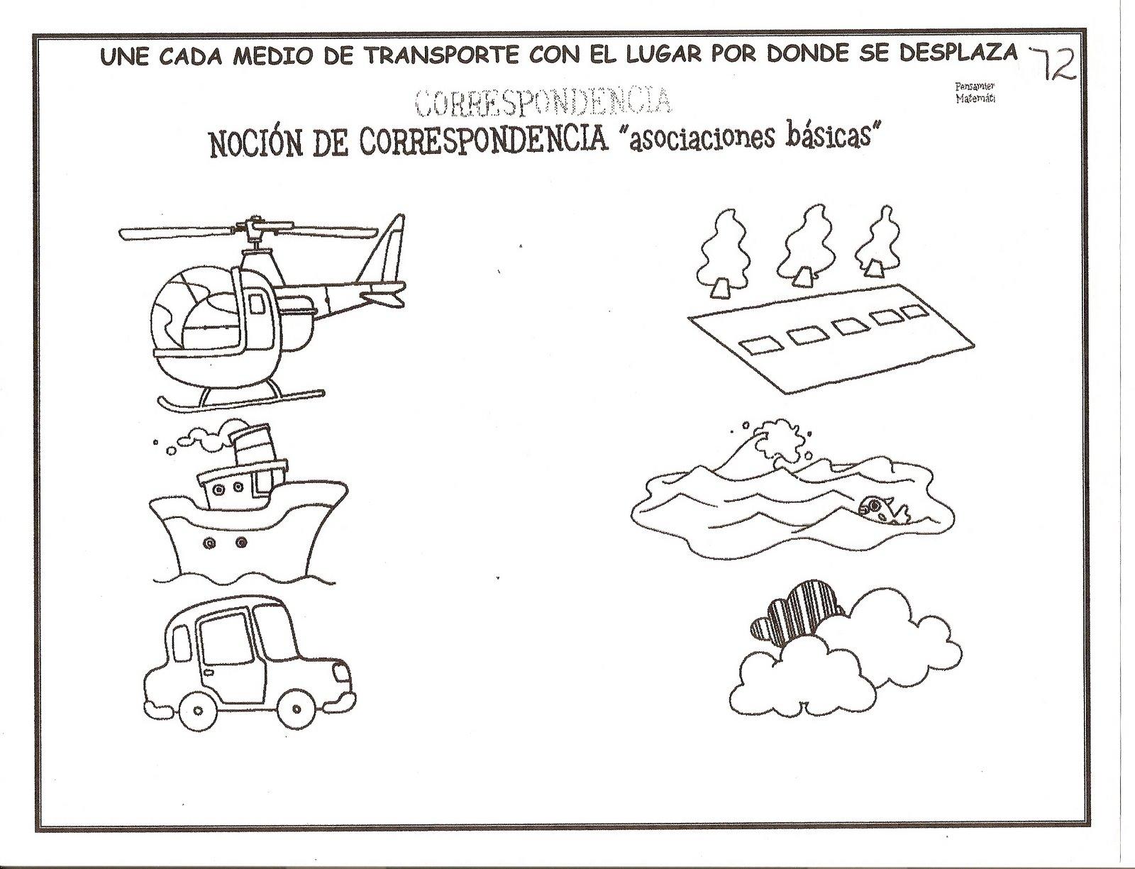 Fichas Infantil Trabaja Grafomotricidad Conceptos Matemáticas