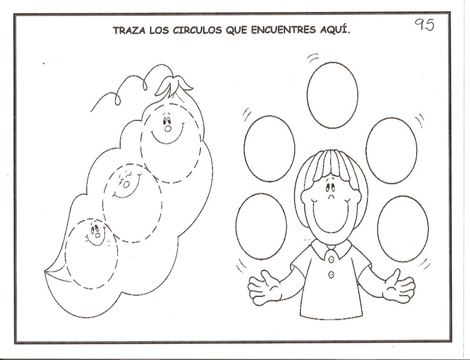 Fichas infantil: Trabaja grafomotricidad, conceptos, matemáticas