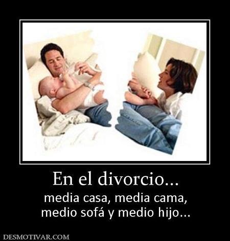 el divorcio