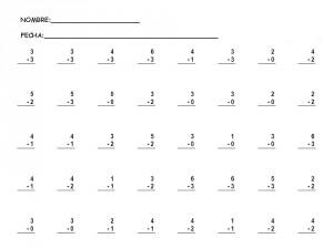 Sumas y restas: 16 fichas de matemáticas con ejercicios para primaria