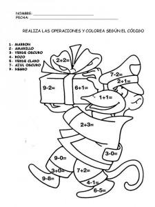 Suma Y Colorea Fichas Matemáticas Para Aprender A Sumar Escuela