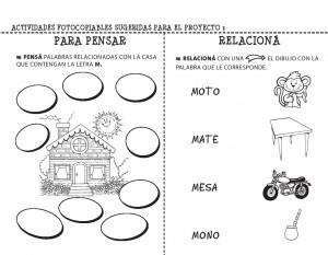 Fichas de lectoescritura para imprimir en infantil y primaria