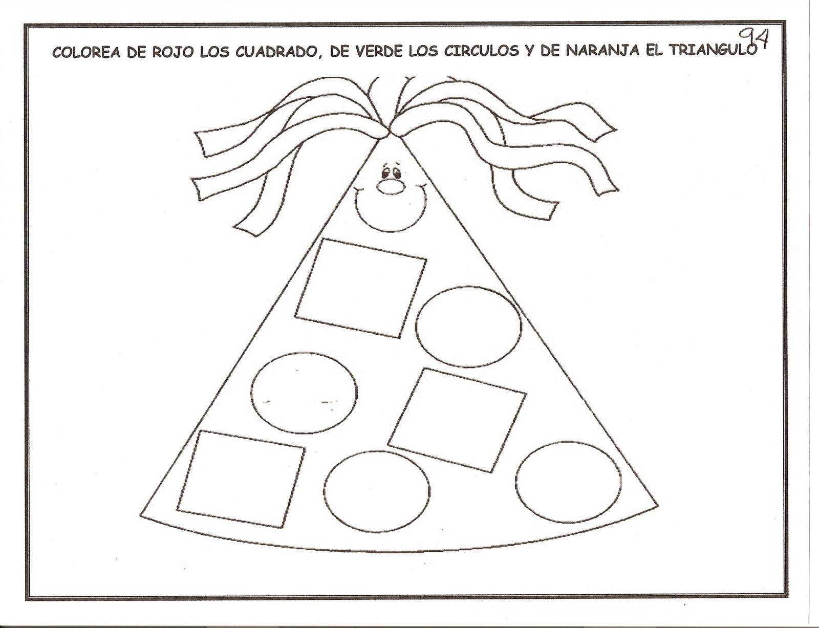 Libreta De Dibujo Con Dibujos Infant: Fichas Para Niños De 3-6 Años. Educación Infantil